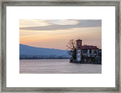 Oberhofen - Switzerland Framed Print by Joana Kruse