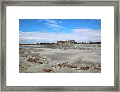 Ocean Course Clubhouse At Kiawah Island Framed Print by Rosanne Jordan