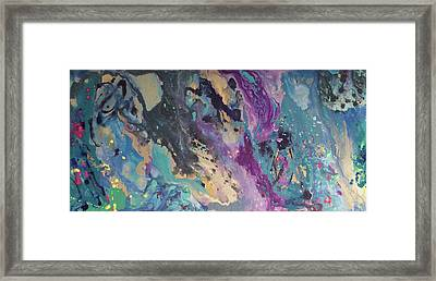 Ocean Floor Framed Print by Margalit Romano
