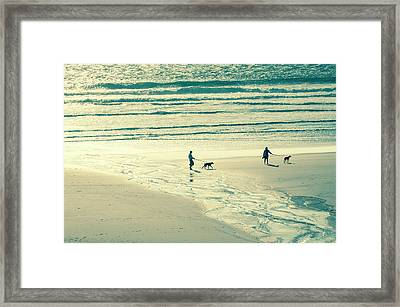 Oceanside Oregon Framed Print