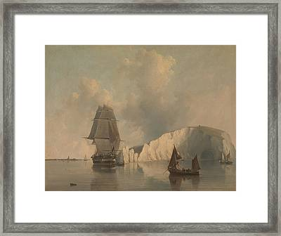 Off The Needles, Isle Of Wight Framed Print