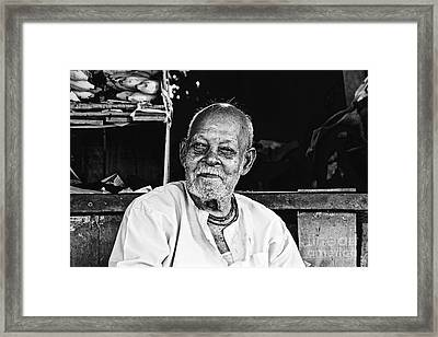 Old Age Framed Print by Bobby Mandal