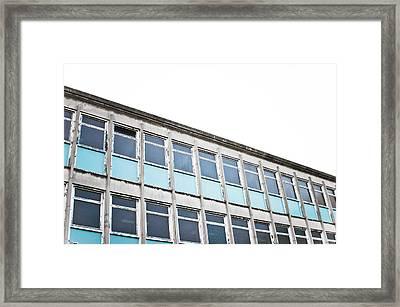 Old Office Building Framed Print