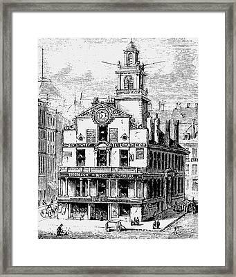 Old State House, Boston Framed Print