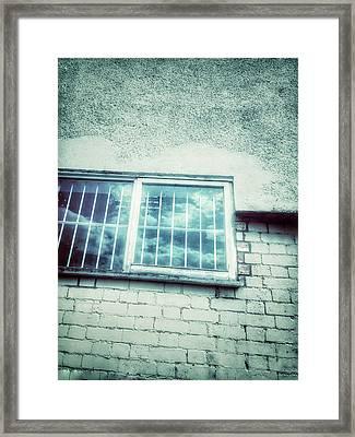 Old Window Bars Framed Print by Tom Gowanlock