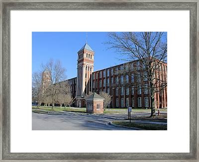 Olympia Mills Framed Print