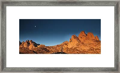 Organ Mountans At Sunrise-2 Framed Print