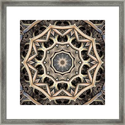 Organic Evolution Framed Print by Michele Caporaso