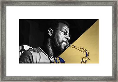 Ornette Coleman Collection Framed Print