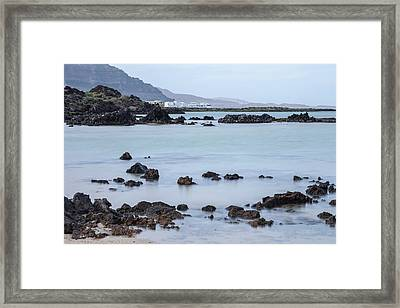 Orzola - Lanzarote Framed Print