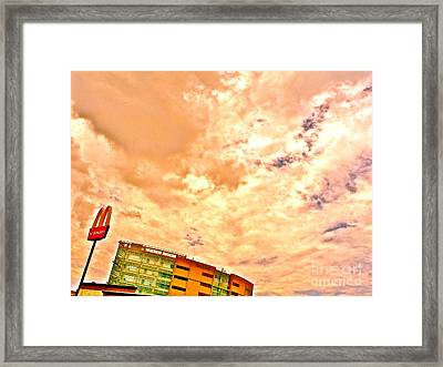 Our Small Business Framed Print by Chuck Taylor