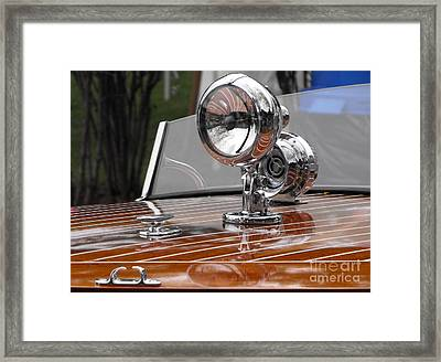 Outboard Runabout Framed Print