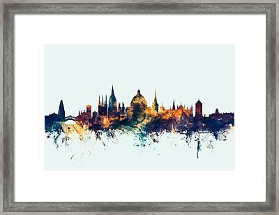 Oxford England Skyline Framed Print