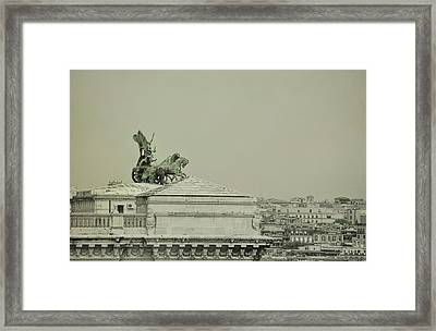 Palace Of Justice In Rome Framed Print by JAMART Photography