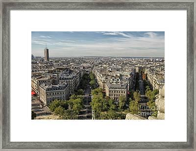 Paris Framed Print by Patricia Hofmeester