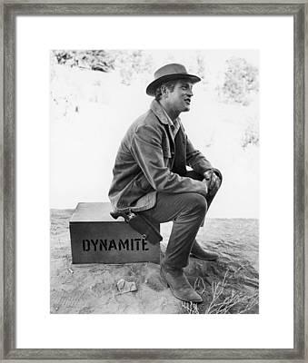 Paul Newman (1925-2008) Framed Print by Granger