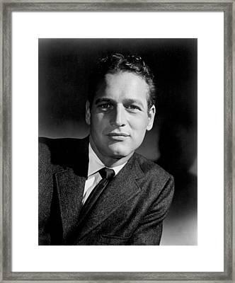 Paul Newman Framed Print by Everett