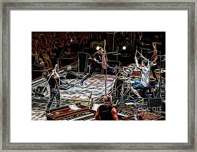 Pearl Jam Collection Framed Print