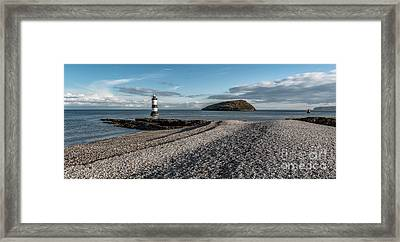 Penmon Point Lighthouse Framed Print by Adrian Evans