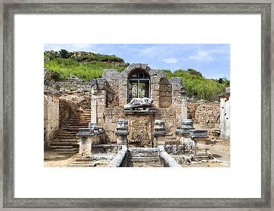 Perge - Turkey Framed Print