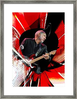 Pete Townshend Art Framed Print by Marvin Blaine