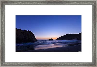 Pfeiffer Beach Framed Print