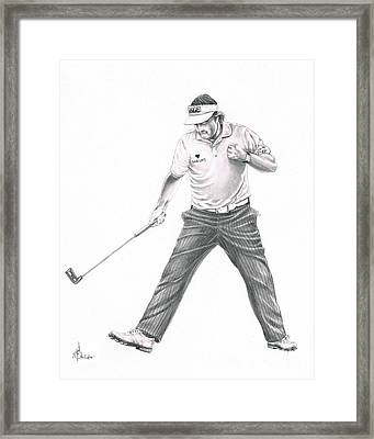 Phil Mickelson Framed Print