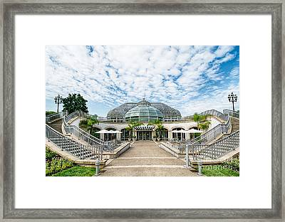 Phipps Conservatory Pittsburgh Pennsylvania Framed Print