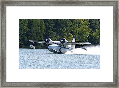 Picking Up Speed Framed Print by Kevin McCarthy