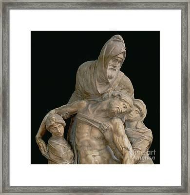 Pieta Framed Print by Michelangelo