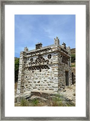 Pigeon House  Framed Print
