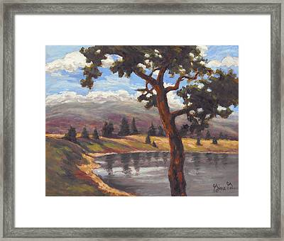Pinon View Framed Print