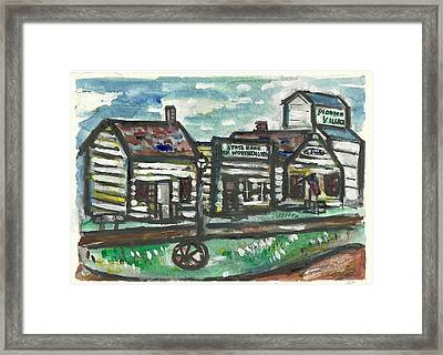 Pioneer Village Framed Print by Matt Gaudian
