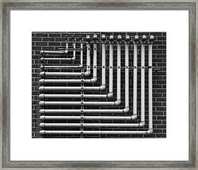 Pipes Framed Print by Robert Ullmann