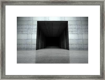 Player Stadium Entrance Framed Print by Allan Swart