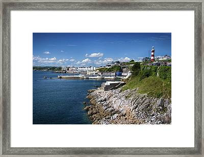 Plymouth Foreshore Framed Print by Chris Day