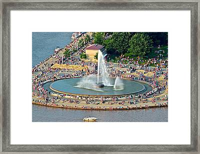 Point State Park Framed Print by Frozen in Time Fine Art Photography