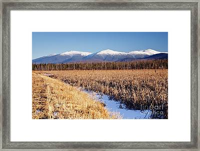 Pondicherry Wildlife Refuge - Jefferson New Hampshire Framed Print