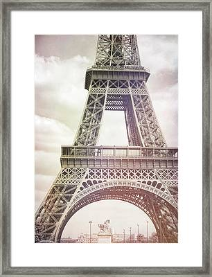 Ponte D'lena Sculpture Watercolor Framed Print by JAMART Photography