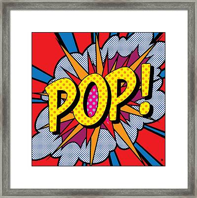 Pop Art - 4 Framed Print