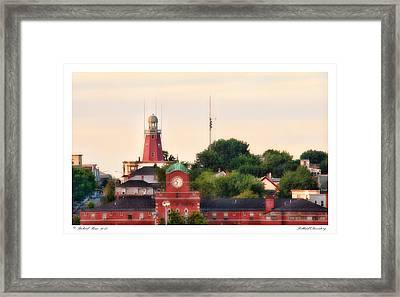 Portland Observatory Framed Print