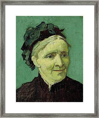 Portrait Of The Artist's Mother Framed Print