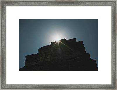 poshanu Tower Framed Print