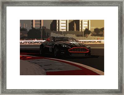Power And Motors Framed Print by Andrea Mazzocchetti