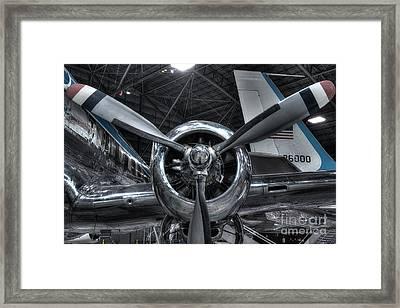 Pratt And Whitney R-2800 - Douglas Vc-118 - The Independence  Framed Print