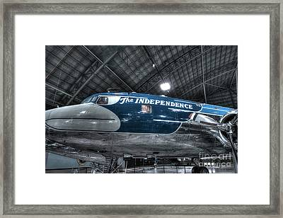 Presidential Aircraft, Douglas, Vc-118, The Independence  Framed Print