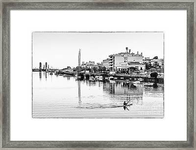 Framed Print featuring the photograph Puerto De Santa Maria Cadiz Spain by Pablo Avanzini