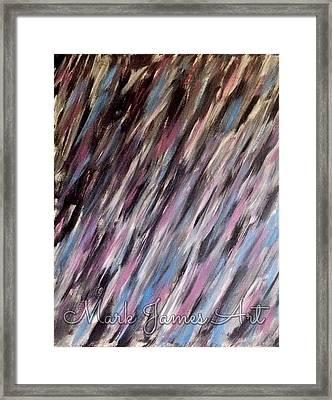 Purple Rain Framed Print by Mark James