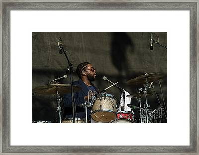 Questlove With The Roots Framed Print
