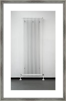 Radiator Framed Print by Tom Gowanlock
